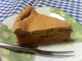 卵白消費!ヘルシーなミルクティーケーキ