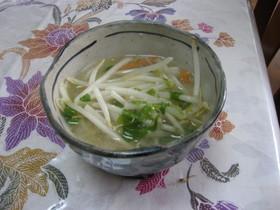 簡単 寒天味噌スープ