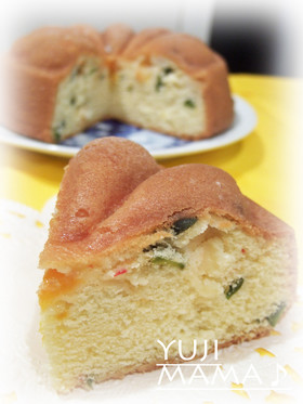 フルーツ缶★ふわふわしっとり★練乳ケーキ