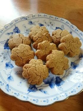 ママ必見!!簡単ノンバターきなこクッキー