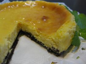爽やか風味のチーズケーキ