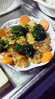 豆腐ハンバーグ☆甘辛照り焼き風の写真
