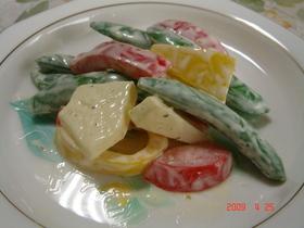 パプリカのビタミンカラーサラダ