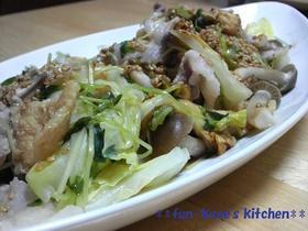 ☆簡単☆キャベツと余り野菜と豚肉の蒸し煮