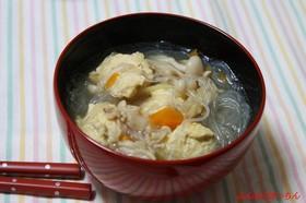 たまごつくねの春雨スープ
