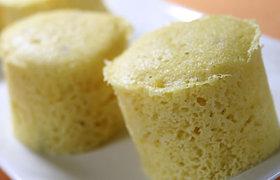 大豆粉とお芋のケーキ