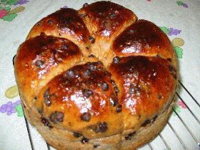 クルミチョコチップパン*ホームベーカリー使用*