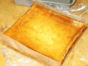 簡単・ウマウマ♪シンプルベークドチーズケーキ
