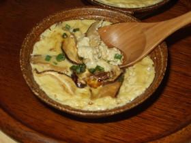 レンジで簡単 温たま豆腐