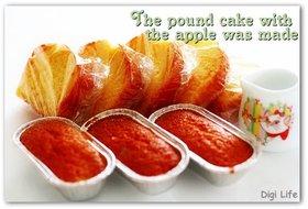 簡単!!リンゴのしっとりパウンドケーキ