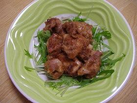 鶏肉の生姜入り照り焼き