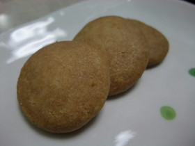 材料3つでちんすこうのようなクッキー