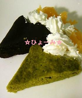 レンジで簡単☆おからのふわふわケーキ☆