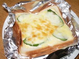 簡単☆ビックリチーズトースト