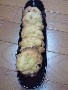 ホワイトチョコチップのドロップクッキー♪