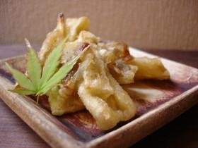 タケノコとザーサイの天ぷら