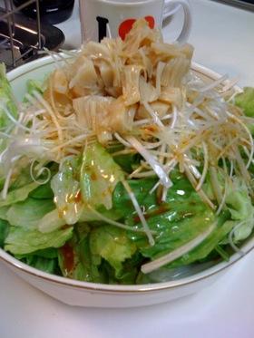簡単ホタテのサラダ