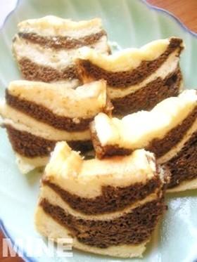 卵白消費★しましまパウンドケーキ