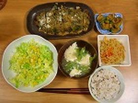 簡単ヘルシー豆腐と野菜きのこミートローフ