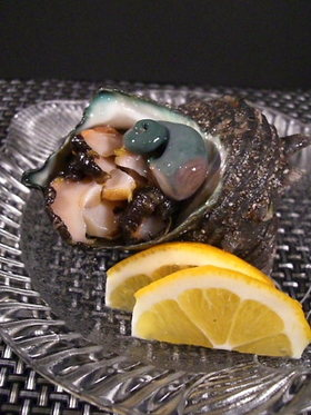 魚を捌こう!新鮮♫サザエの刺身編