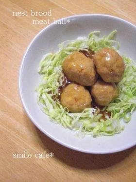 豆腐入り甘酢肉団子☆
