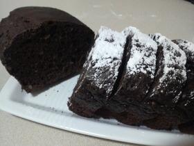 ホットケーキミックスでココアケーキ