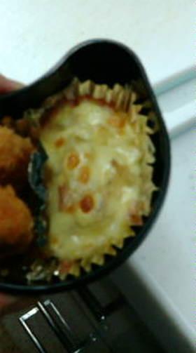 弁当☆ジャガ玉ベーコンのマヨチーズ焼き♪