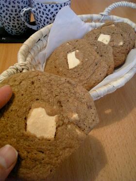カプチーノチョコレートクランチクッキー