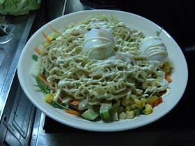 野菜たっぷり☆ラーメンサラダ