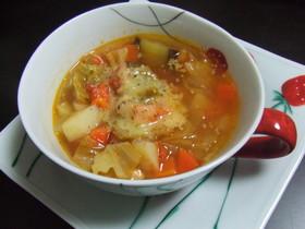 具沢山野菜スープ♪ ミネストローネ