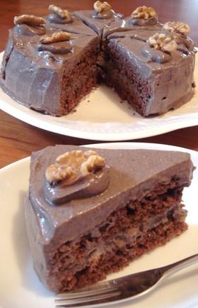 ノンエッグ乳製品ゼロ☆チョコレートケーキ