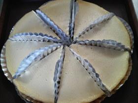 炊飯器で!クリーミーなチーズケーキ
