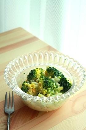ごろっと*ブロッコリと卵のサラダ