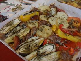 色々野菜のオーブン焼き