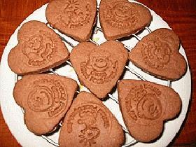 可愛いチョコクッキー