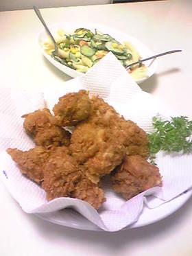 カリカリジューシー☆鶏の唐揚げ