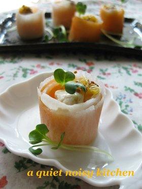 チーズdeオードブル♪柑橘マスタード添え