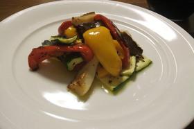 炙り野菜のマリネ