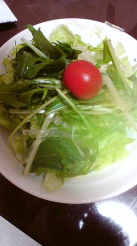 ヘルシーピリつるっシャキなサラダ