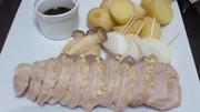 豚のオーブン焼きバルサミコソースの写真