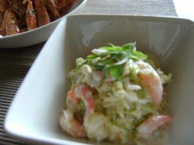 小えびのコールスローサラダ