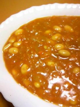 大豆をおいしくがっつりと★大豆カレー