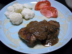 ◆ご飯が進む!鶏モモ肉の玉ねぎソース◆