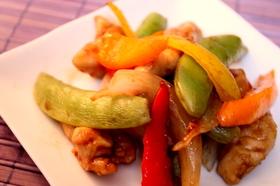 バルサミコ酢鶏
