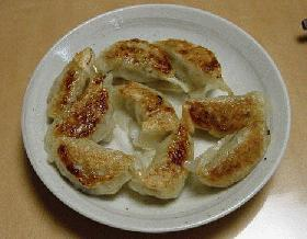 マジでおいしい焼きギョーザ (*^_^*)