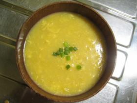 中華風のコーンスープ