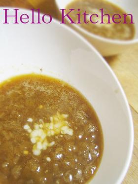 濃厚&簡単フレンチカフェのオニオンスープ