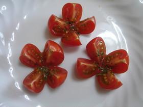ミニトマトのお花✿お弁当にも