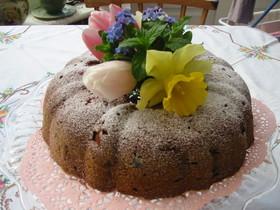 美味しいアップル・カプチーノケーキ