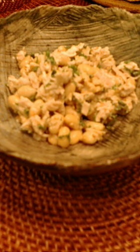 大豆のマヨサラダ